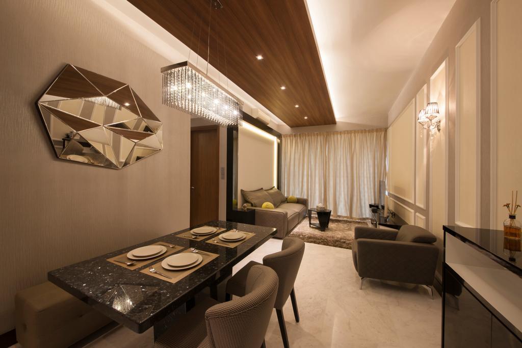 Vintage, Condo, Living Room, Jardin, Interior Designer, Hue Concept Interior Design, Traditional, Chair, Furniture, Indoors, Room