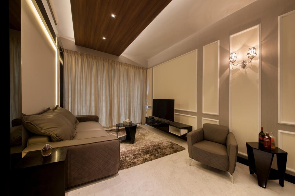 Vintage, Condo, Living Room, Jardin, Interior Designer, Hue Concept Interior Design, Traditional, Dining Table, Furniture, Table, Bedroom, Indoors, Interior Design, Room