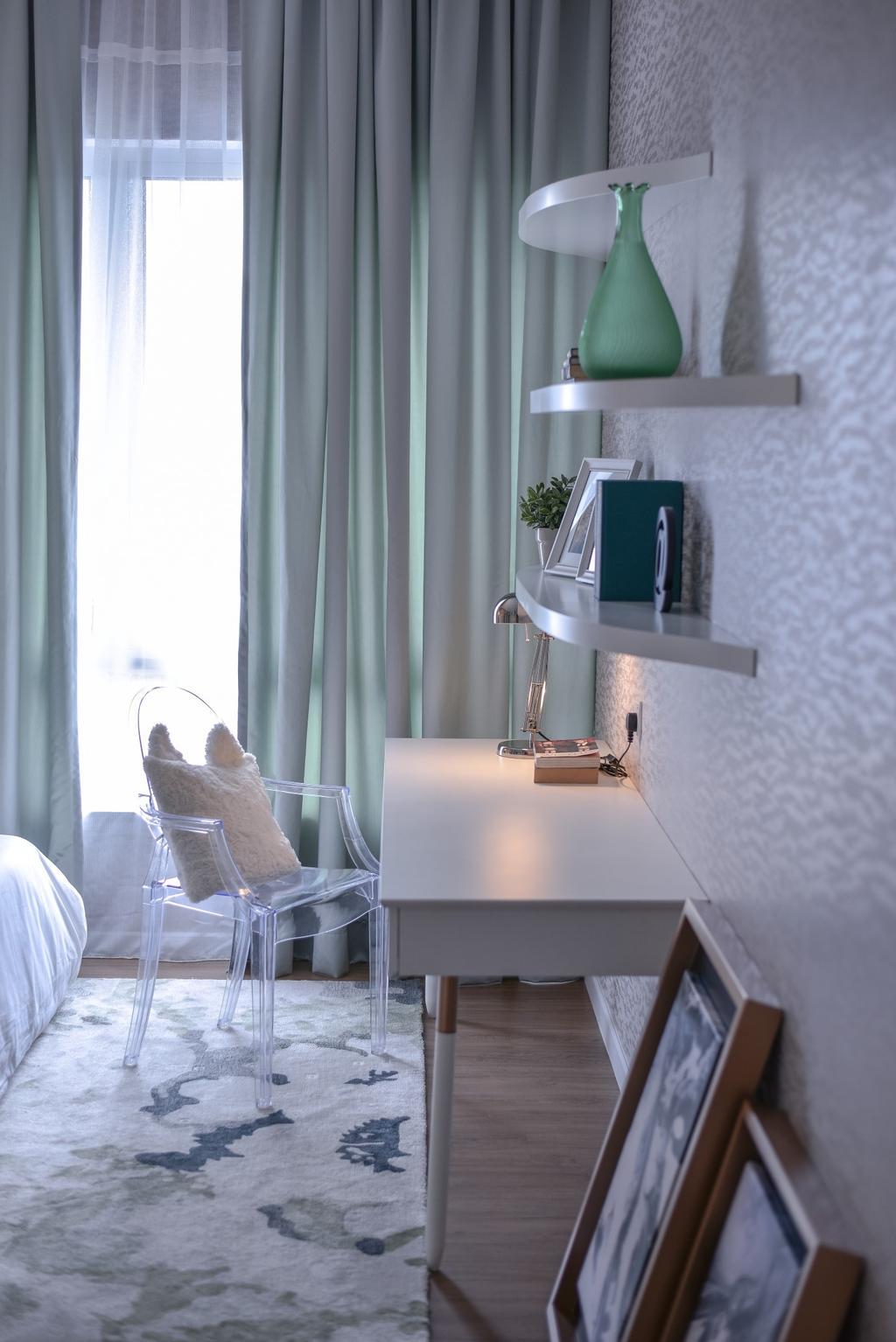 Modern, Landed, Bedroom, Tropicana Kajang, Interior Designer, SQFT Space Design Management, Gutter