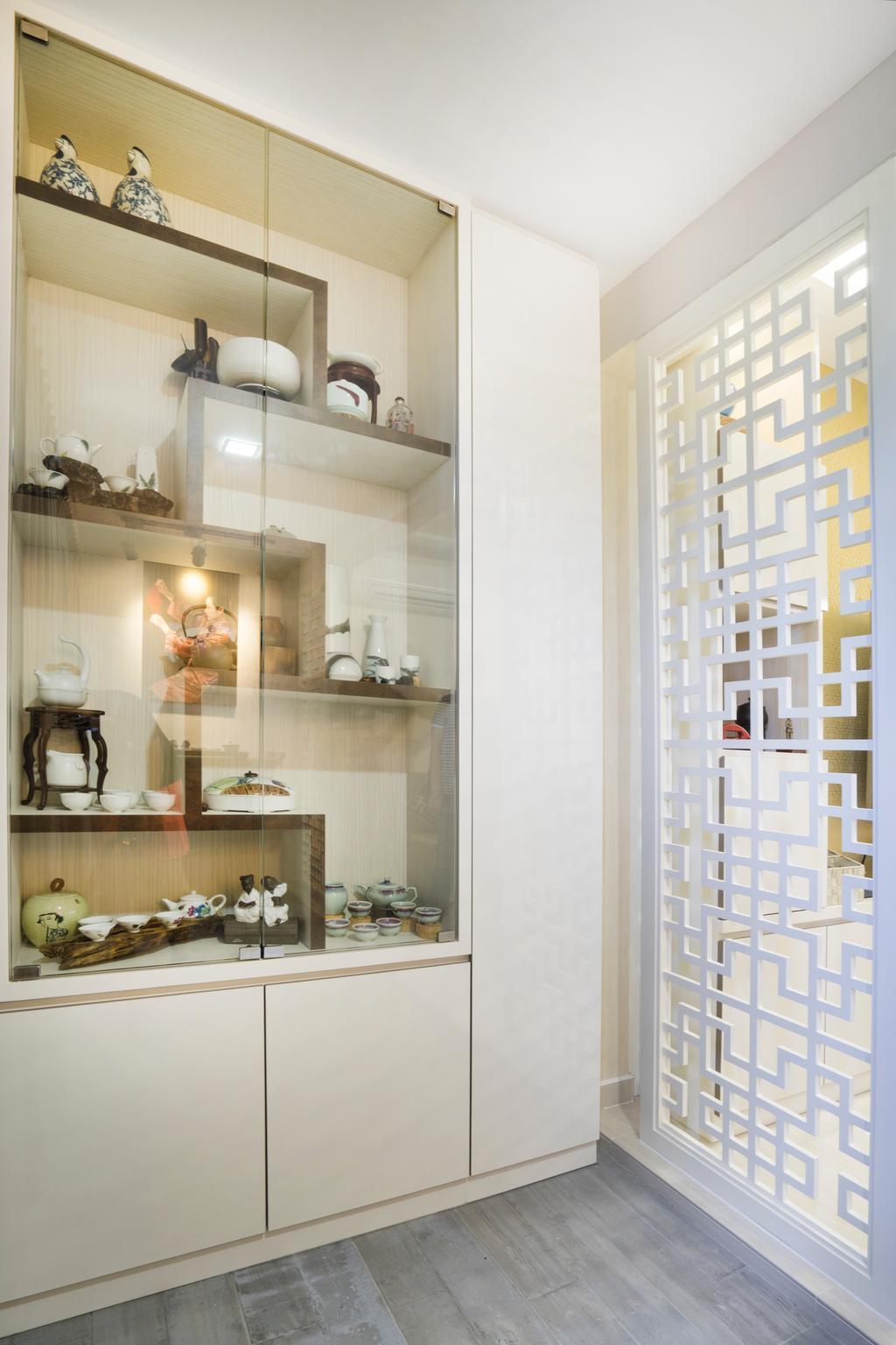 Contemporary, HDB, Living Room, Bedok North Avenue 2, Interior Designer, Cozy Ideas Interior Design, Display Cabinet, Display Shelf, Home Decor, Indoors, Interior Design
