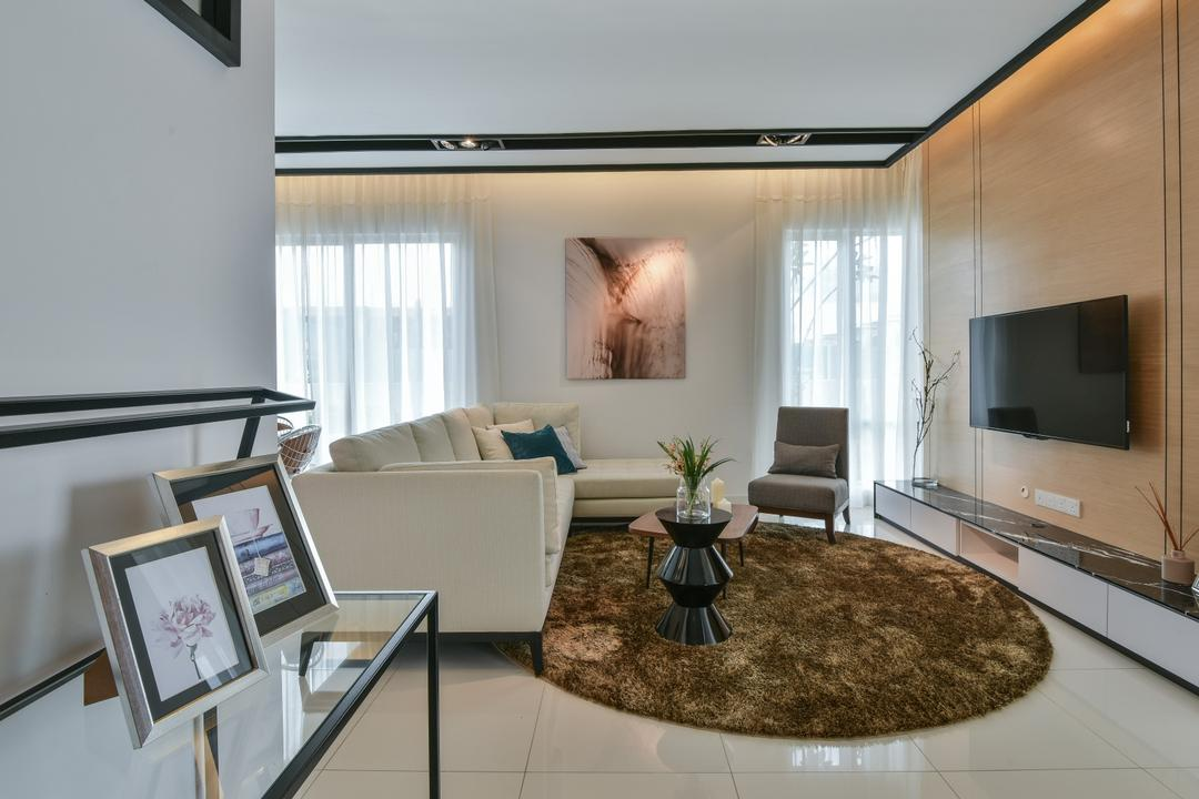 Kajang Living Room Interior Design 4