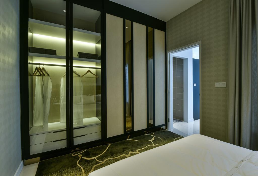 Modern, Landed, Bedroom, Kajang, Interior Designer, SQFT Space Design Management
