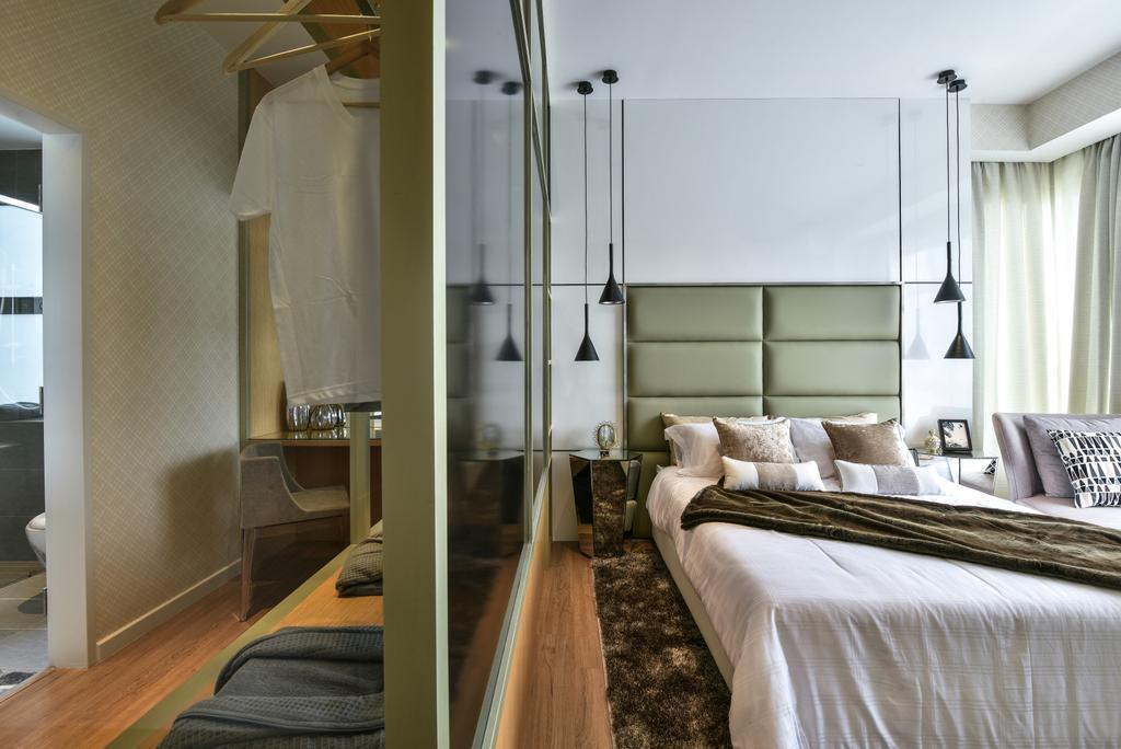 Modern, Landed, Bedroom, Kajang, Interior Designer, SQFT Space Design Management, Indoors, Interior Design, Apartment, Building, Housing