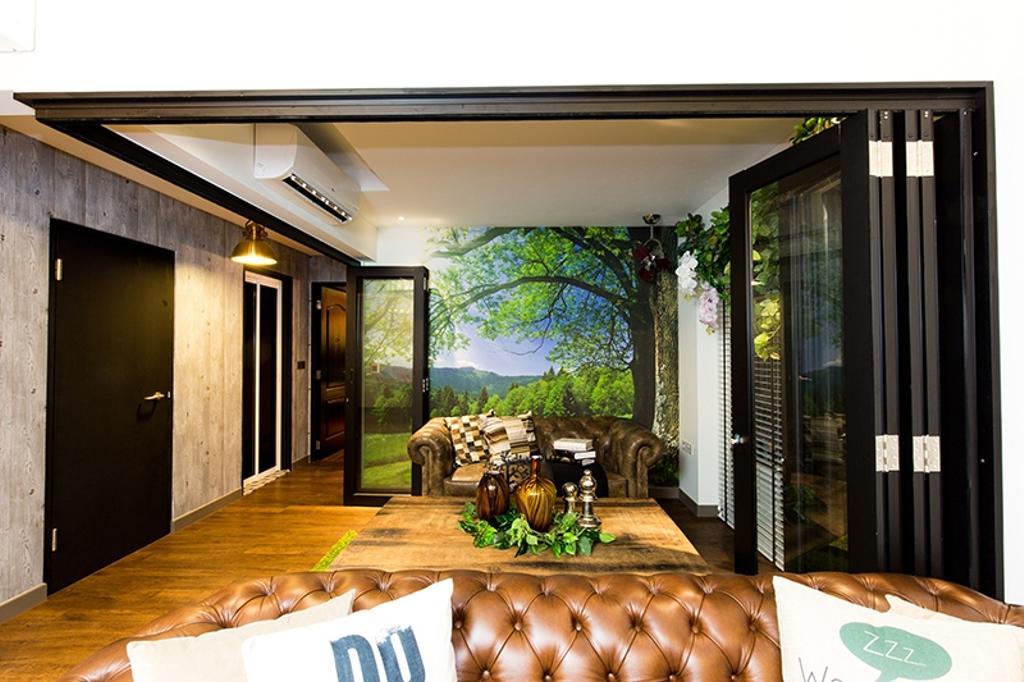 Industrial, HDB, Living Room, SkyVille @ Dawson, Interior Designer, Thom Signature Design, Vintage