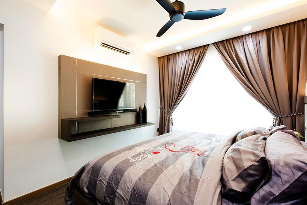 Modern, HDB, Bedroom, Edgefield Plains (Block 668A), Interior Designer, Thom Signature Design