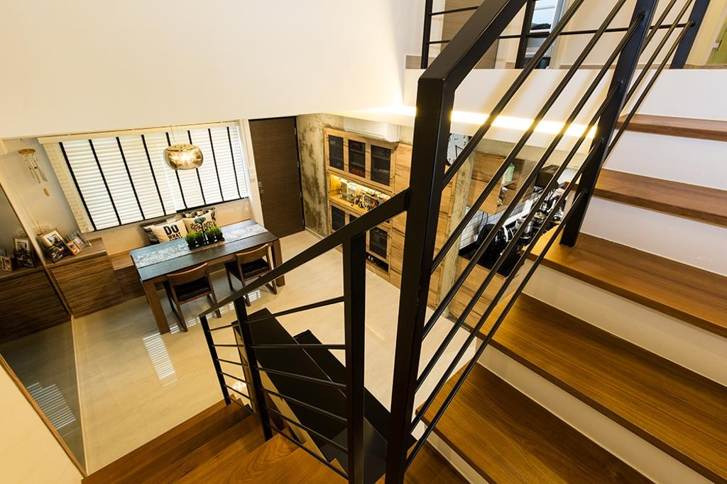 Industrial, HDB, Simei Street (Block 226), Interior Designer, Thom Signature Design, Modern