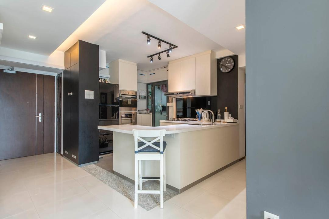 Open Kitchen Interior Design Singapore Interior Design Ideas