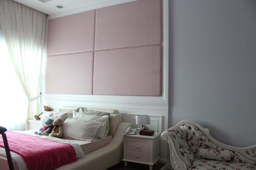 Vintage, Landed, Bedroom, Saujana Impian Kajang, Interior Designer, Klaasmen Sdn. Bhd., Indoors, Interior Design, Room
