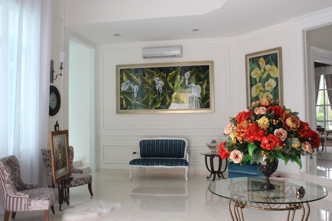 Saujana Impian Kajang, Klaasmen Sdn. Bhd., Vintage, Living Room, Landed, Dining Room, Indoors, Interior Design, Room, Blossom, Flora, Flower, Flower Arrangement, Ornament, Plant, Furniture, Studio Couch