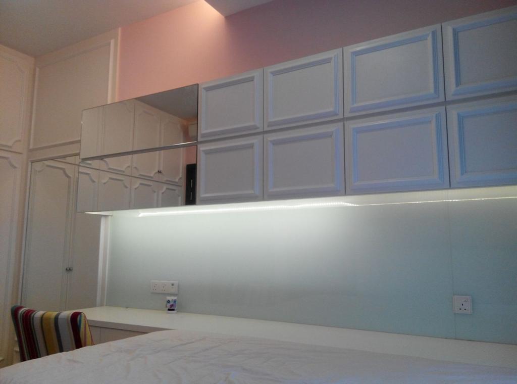 Vintage, Condo, Bedroom, Mont Kiara 11, Interior Designer, Klaasmen Sdn. Bhd.