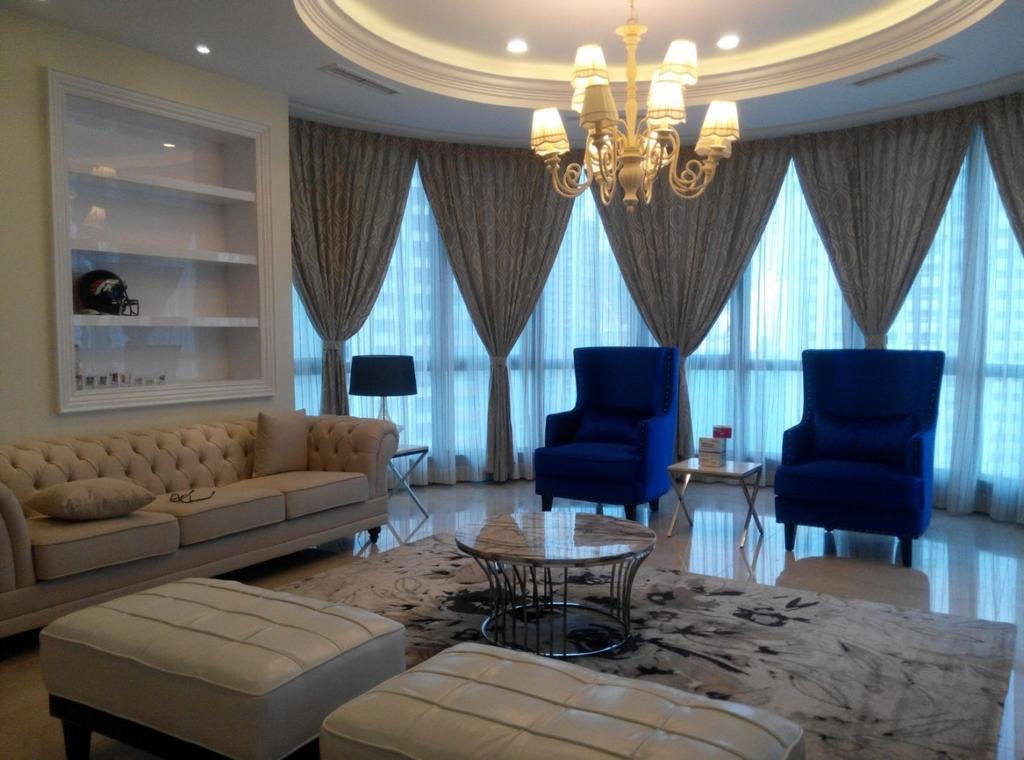 Vintage, Condo, Living Room, Mont Kiara 11, Interior Designer, Klaasmen Sdn. Bhd., Couch, Furniture, Chair, Indoors, Interior Design, Room, Patio, Dining Table, Table
