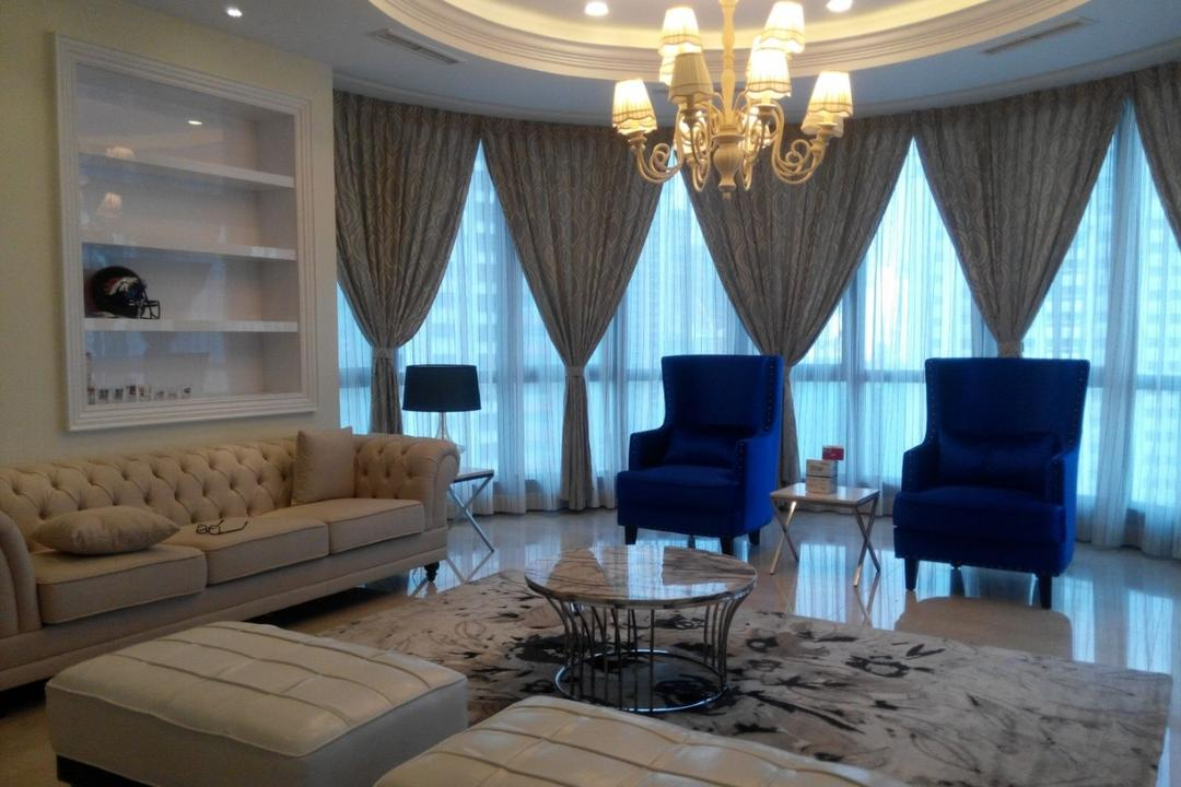 Mont Kiara 11, Klaasmen Sdn. Bhd., Vintage, Living Room, Condo, Couch, Furniture, Chair, Indoors, Interior Design, Room, Patio, Dining Table, Table