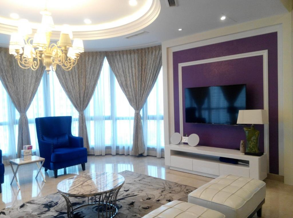 Vintage, Condo, Living Room, Mont Kiara 11, Interior Designer, Klaasmen Sdn. Bhd., Indoors, Room, Interior Design, Chair, Furniture