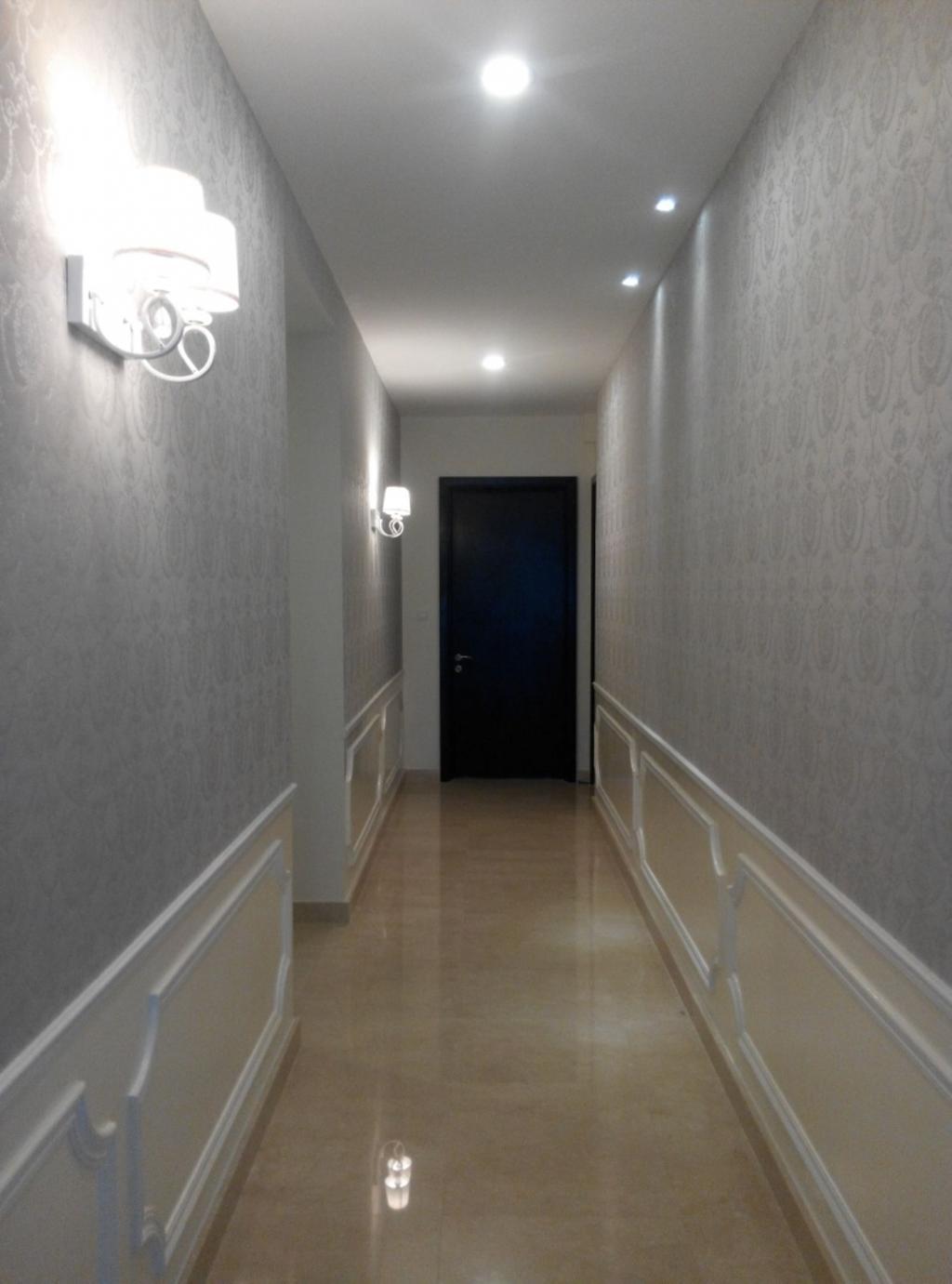 Vintage, Condo, Living Room, Mont Kiara 11, Interior Designer, Klaasmen Sdn. Bhd., Corridor, Appliance, Electrical Device, Oven