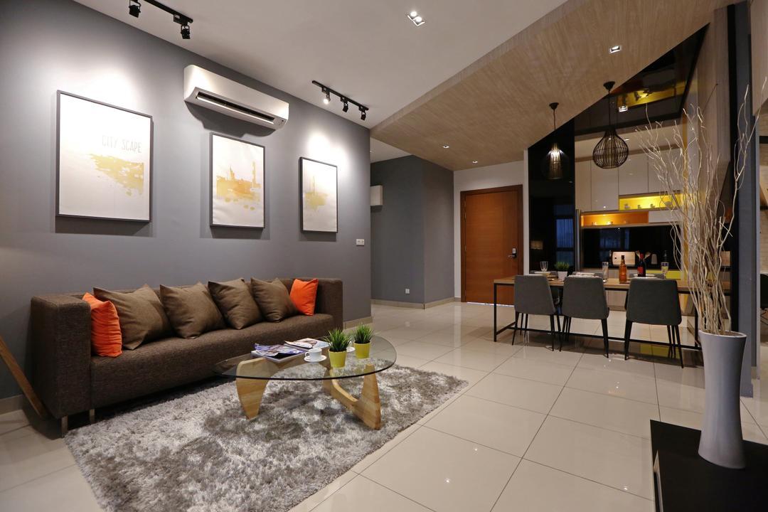IOI Conezion Show Unit Living Room Interior Design 20