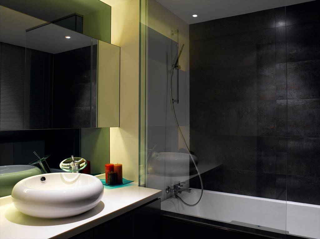 Modern, Condo, Bathroom, UE Square, Interior Designer, Rhiss Interior, Shower Screen, Indoors, Interior Design, Room