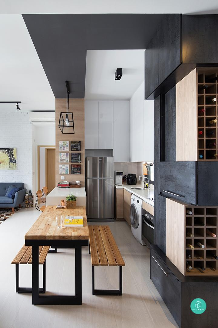 12 Small Apartments And Their Cleverly Organised Interiors