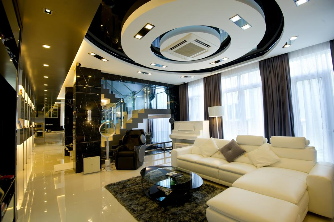 Setia Eco Park, Klaasmen Sdn. Bhd., Modern, Contemporary, Landed, Couch, Furniture, Indoors, Lobby, Room, Interior Design