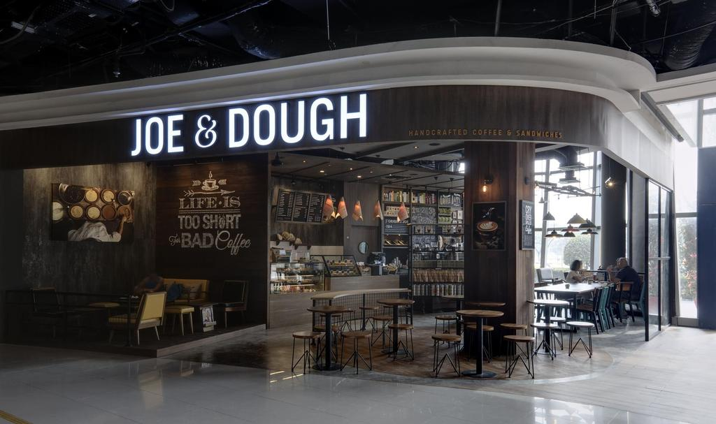 Joe & Dough (Kallang Leisure Park), Commercial, Interior Designer, Liid Studio, Scandinavian, Shop Exterior, Shop Front, Exit, Entrance, Cafe, Restaurant