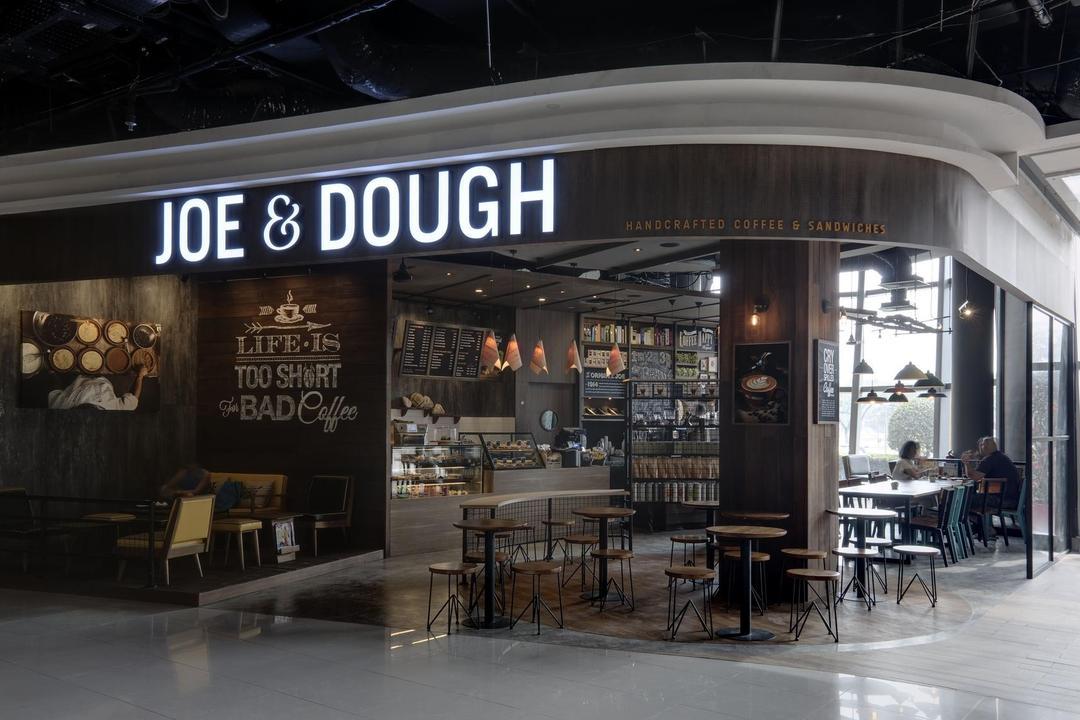 Joe & Dough (Kallang Leisure Park), Liid Studio, Scandinavian, Commercial, Shop Exterior, Shop Front, Exit, Entrance, Cafe, Restaurant