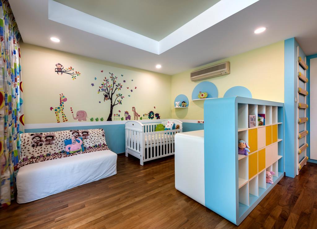 Ash Grove, Commercial, Interior Designer, Space Factor, Modern, Bedroom, Kids Room, Kids, Baby, Babys Room, Crib, Furniture, Floor