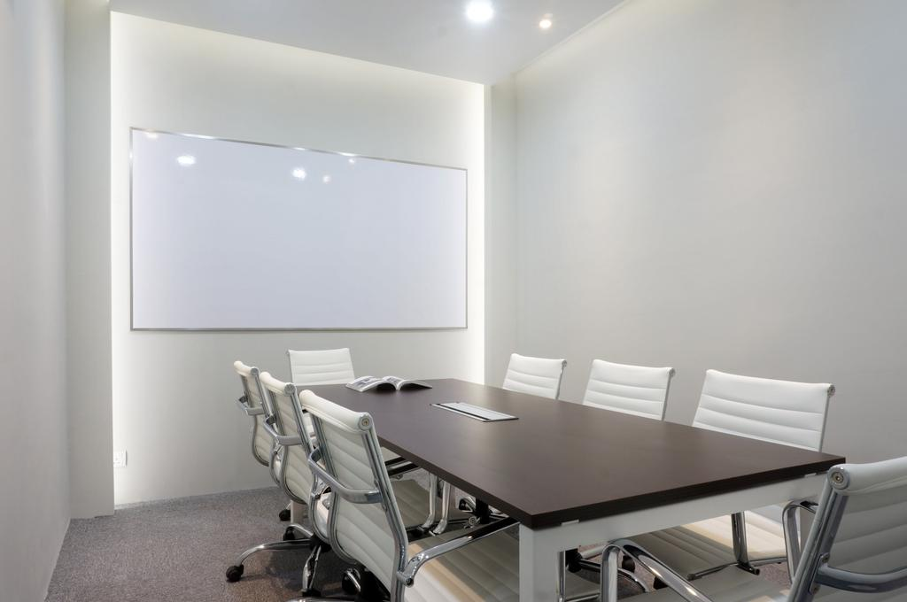 Vertical Bangsar South, Commercial, Interior Designer, Double Art Design Studio, Minimalistic, Conference Room, Indoors, Meeting Room, Room, Chair, Furniture, Banister, Handrail, Dining Table, Table, Dining Room, Interior Design