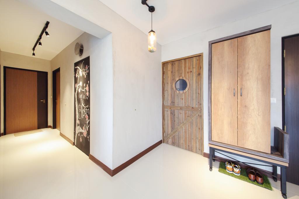 Scandinavian, HDB, Living Room, Upper Serangoon Crescent, Interior Designer, Dap Atelier, Industrial