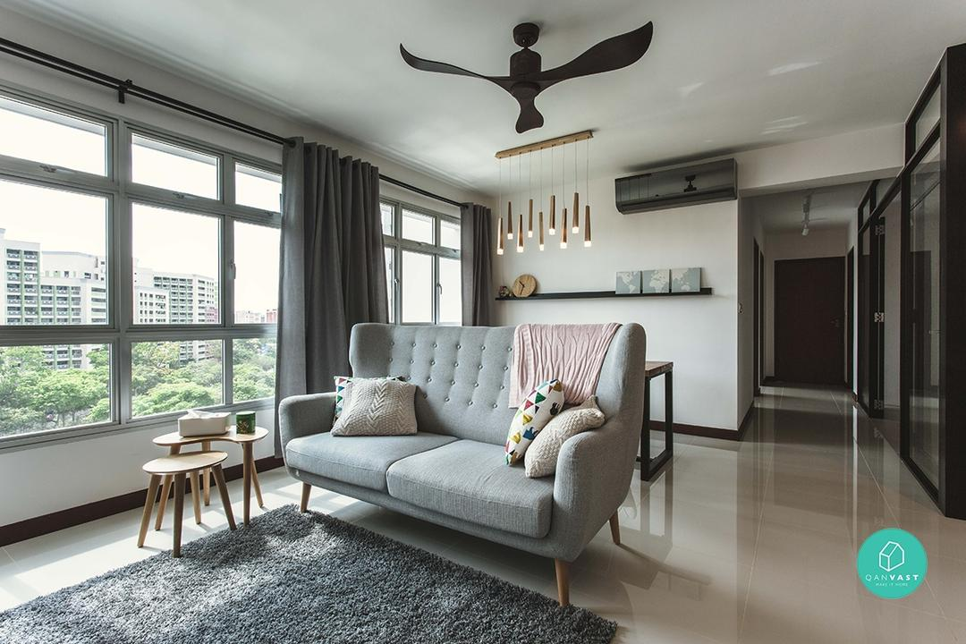 renovation living room ideas 12 must see ideas for your 4 room 5 room hdb renovation 13934
