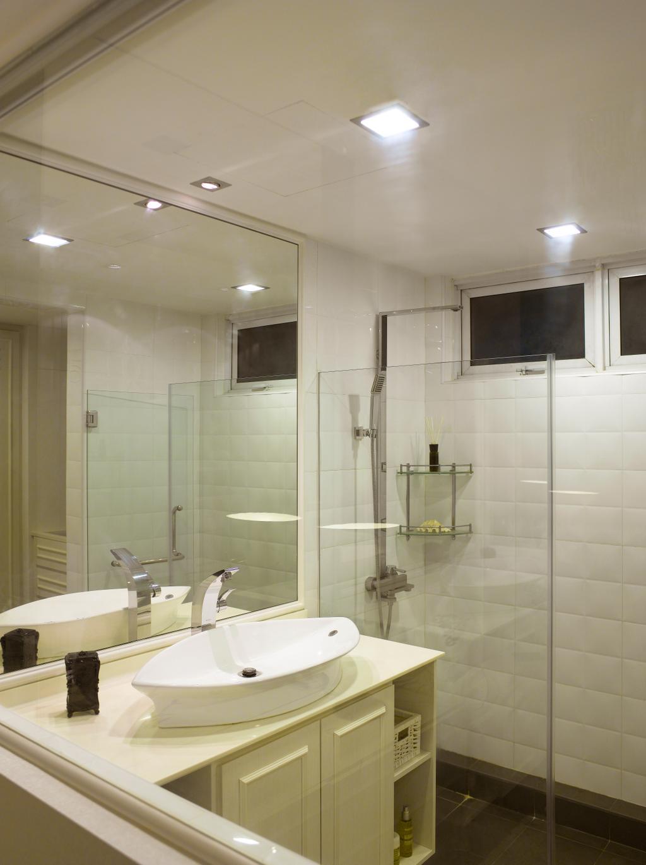 Contemporary, Condo, Bathroom, Sunrise Garden, Interior Designer, Rhiss Interior, Down Lights, Shower Screeen, Sink, Indoors, Interior Design, Room