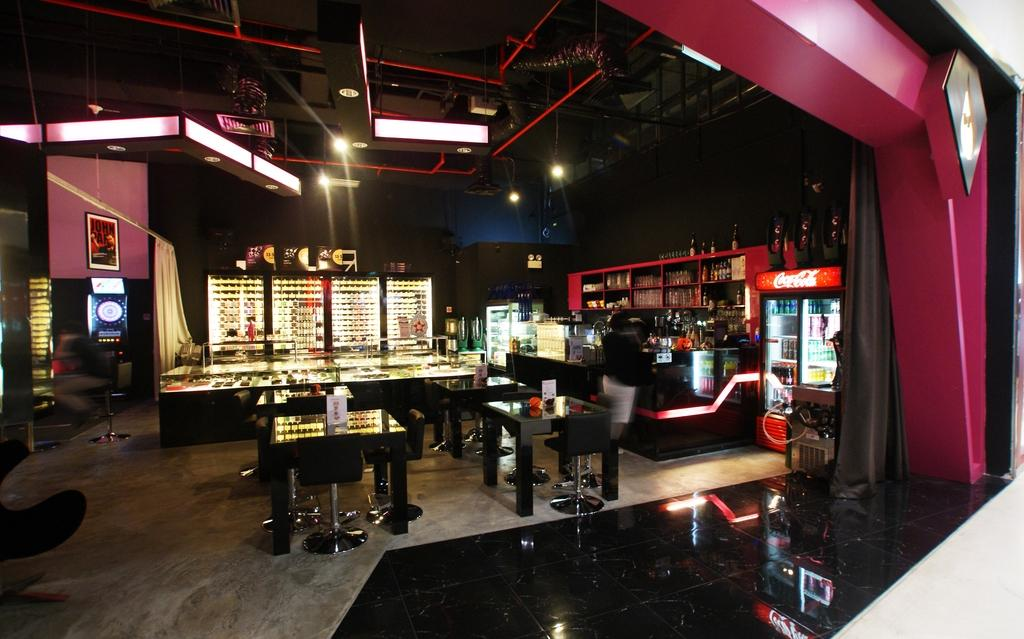 DARTSsoul, Commercial, Interior Designer, Metamorph Design, Modern, Arcade Game Machine, Lighting, Pub
