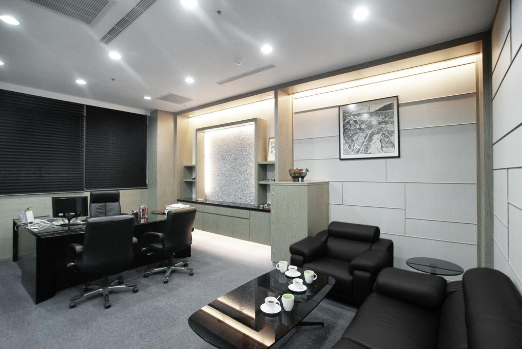 Tri Marine Kaohsiung, Commercial, Interior Designer, Metamorph Design, Modern, Concealed Lighting, Leather Sofa, Couch, Furniture, Indoors, Room