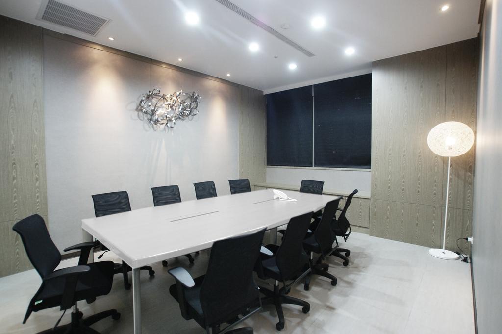 Tri Marine Kaohsiung, Commercial, Interior Designer, Metamorph Design, Modern, Wall Art, Standing Lamp, Conference Room, Indoors, Meeting Room, Room, Chair, Furniture