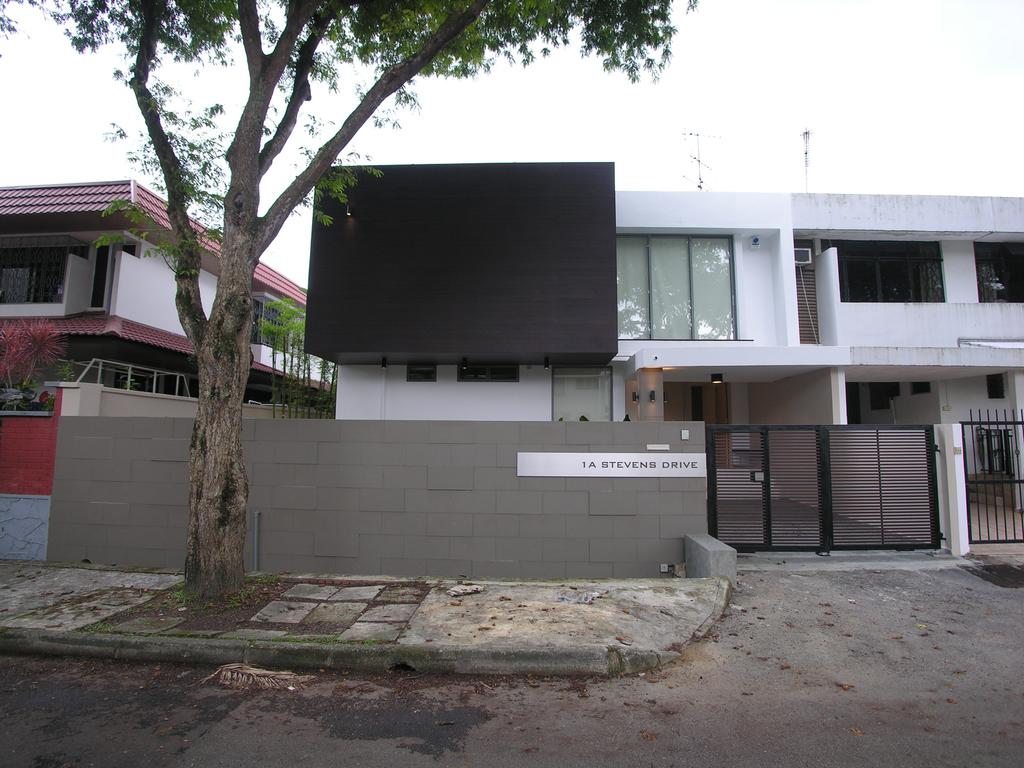 Modern, Landed, 1A Stevens Drive, Architect, Lim Ai Tiong (LATO) Architects, Flora, Jar, Plant, Potted Plant, Pottery, Vase, Building, House, Housing, Villa