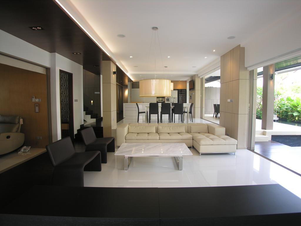 Contemporary, Landed, Living Room, 29 Jalan Teliti, Architect, Lim Ai Tiong (LATO) Architects, Sink, Indoors, Interior Design, Furniture