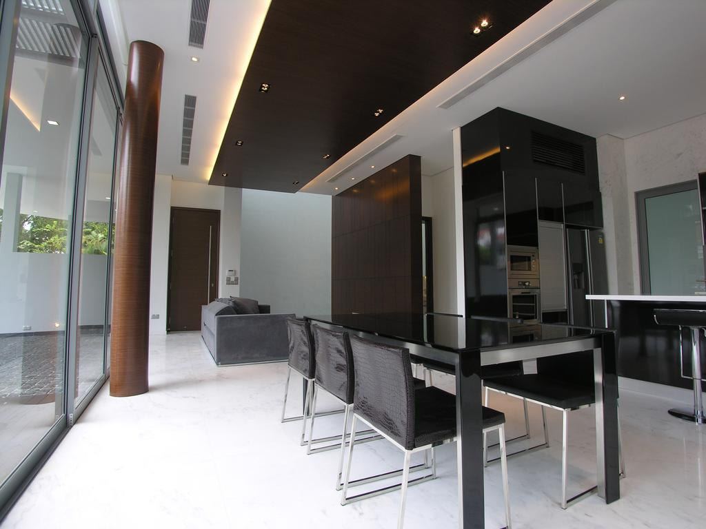 Contemporary, Landed, Dining Room, 103 & 103A Namly Drive, Architect, Lim Ai Tiong (LATO) Architects, Dining Table, Furniture, Table, Chair