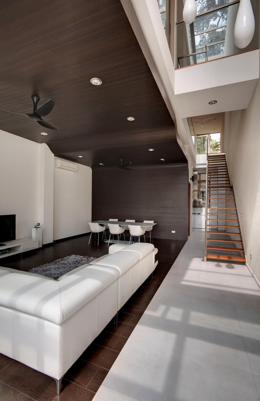 Contemporary, Landed, Living Room, 115 Ming Teck Park, Architect, Lim Ai Tiong (LATO) Architects