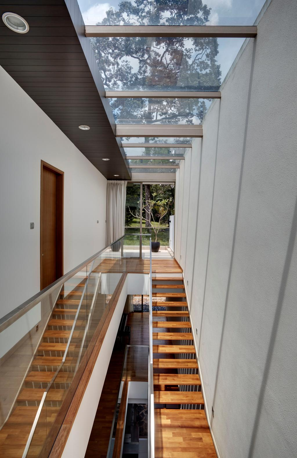 Contemporary, Landed, 115 Ming Teck Park, Architect, Lim Ai Tiong (LATO) Architects, Building, House, Housing, Villa, Corridor