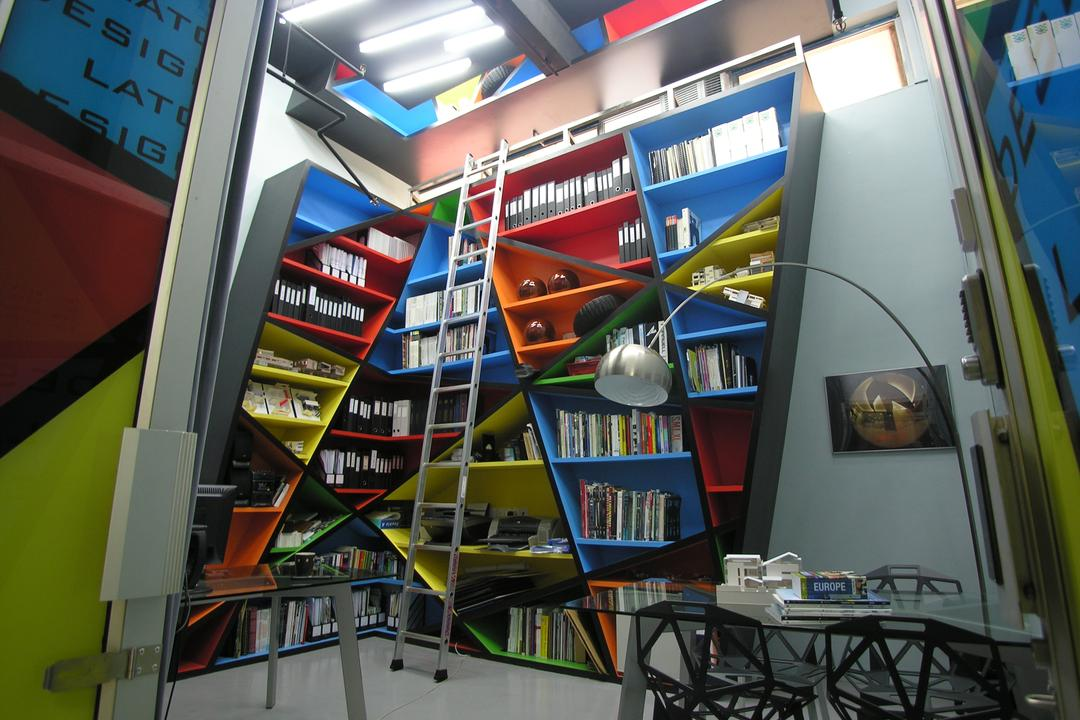 DATAscapes @ LATO Dsign Office, Lim Ai Tiong (LATO) Architects, Eclectic, Commercial, Bookcase, Furniture, Electronics, Hardware, Chair, Indoors, Interior Design, Library, Room