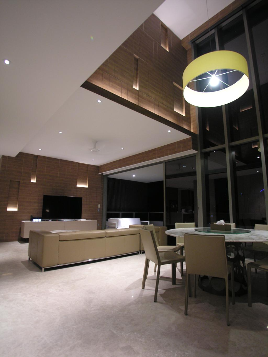 Modern, Condo, Living Room, Leedon Residence, Architect, Lim Ai Tiong (LATO) Architects, Sink, Dining Table, Furniture, Table