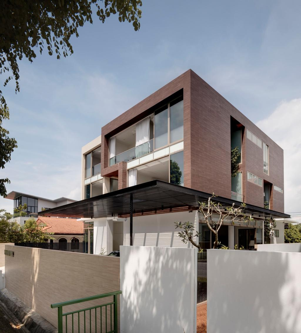 Modern, Landed, 21 Jalan Mariam, Architect, Lim Ai Tiong (LATO) Architects, Apartment Building, Building, City, High Rise, Town, Urban