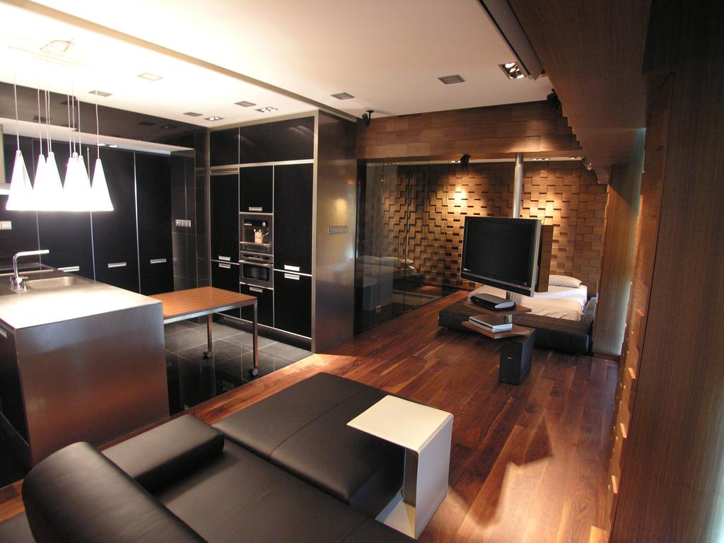 Modern, Condo, Living Room, Gluocester Mansion, Architect, Lim Ai Tiong (LATO) Architects, Chair, Furniture
