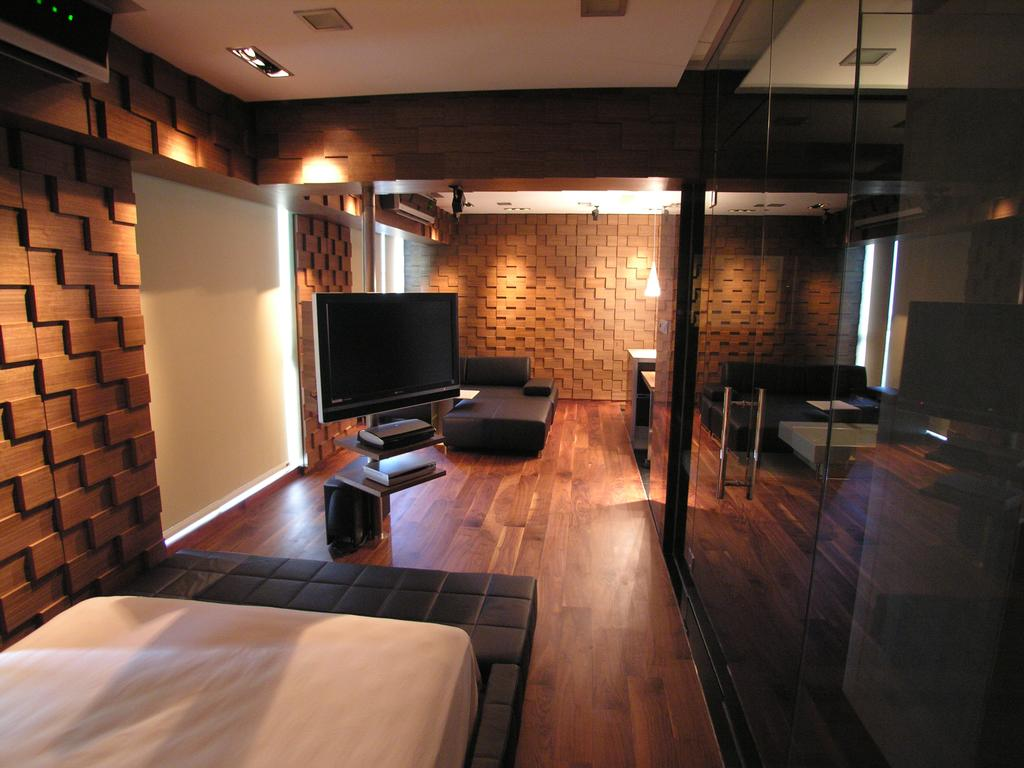 Modern, Condo, Bedroom, Gluocester Mansion, Architect, Lim Ai Tiong (LATO) Architects, HDB, Building, Housing, Indoors, Loft