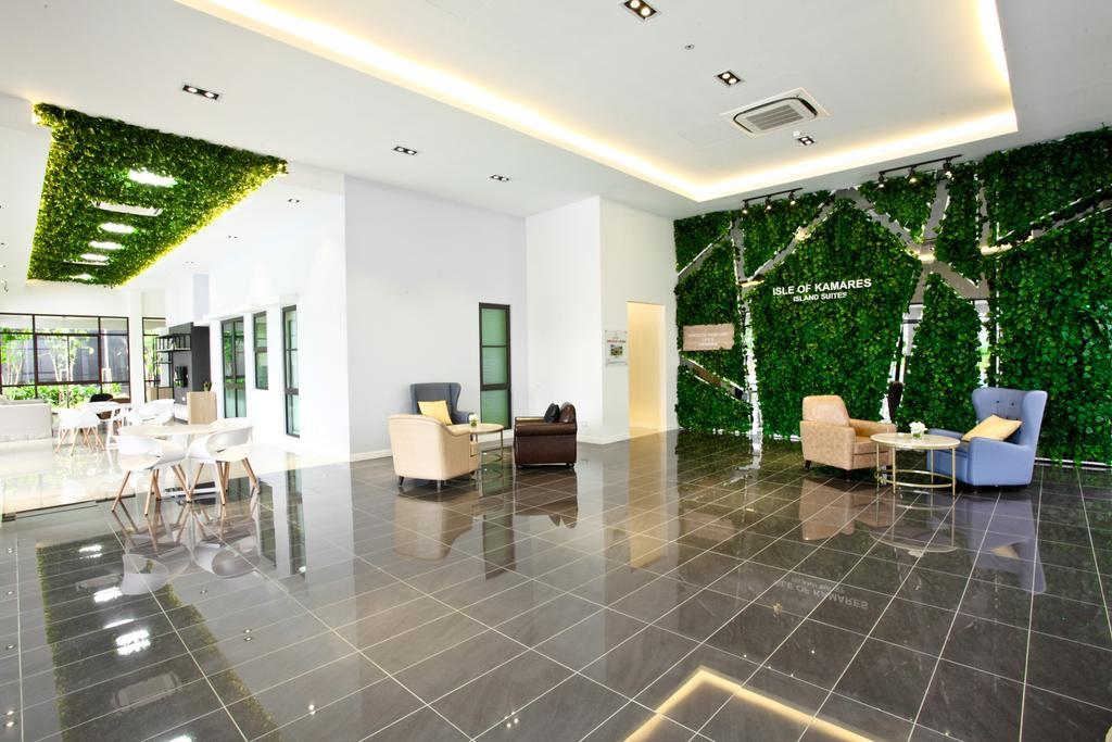 Contemporary, Landed, Living Room, Isle Of Kamares Setia Eco Glades, Cyberjaya, Interior Designer, Nice Style Refurbishment, Dining Table, Furniture, Table, Chair, Flooring