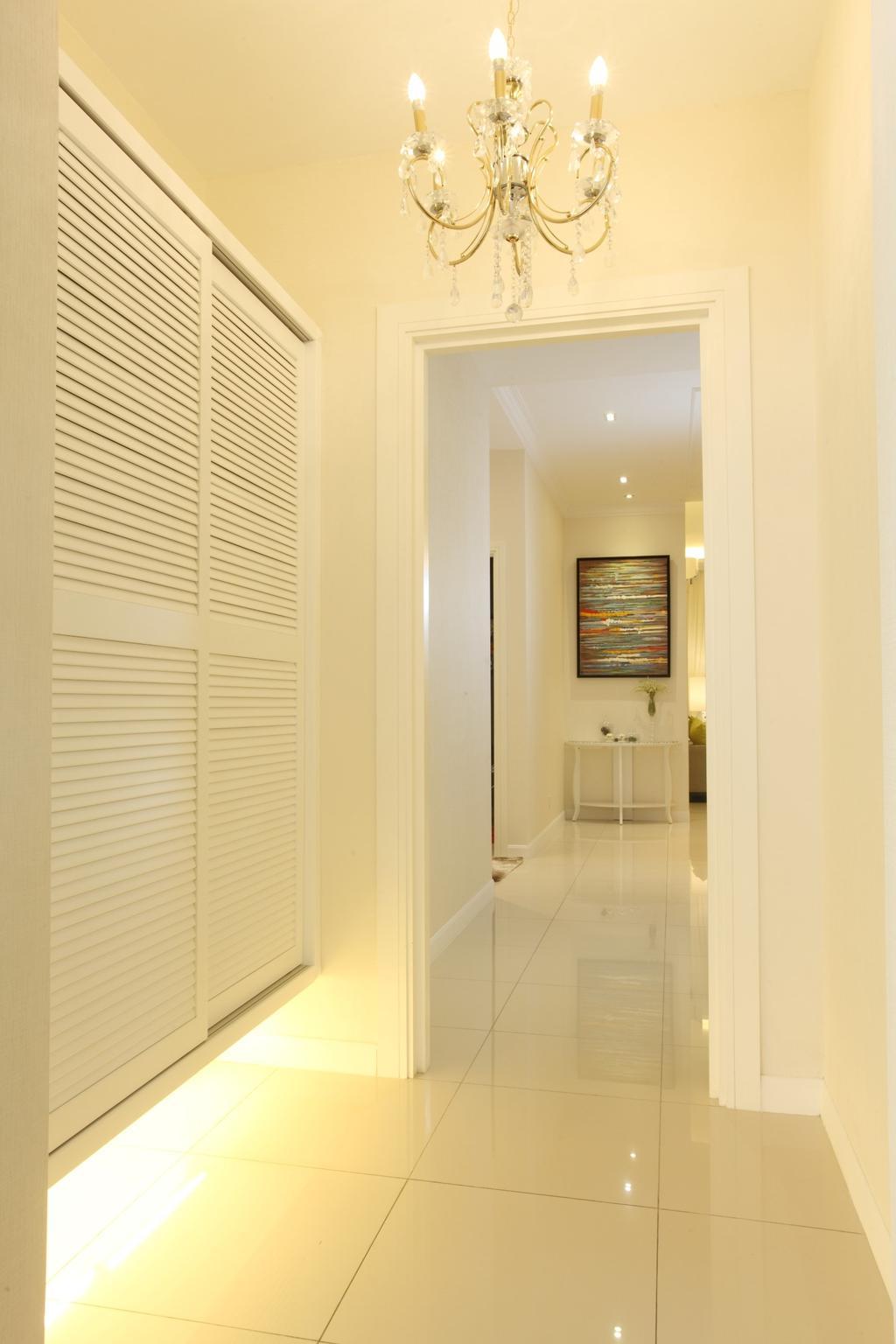 Contemporary, Landed, Kitchen, Isle Of Kamares Setia Eco Glades, Cyberjaya, Interior Designer, Nice Style Refurbishment, Corridor