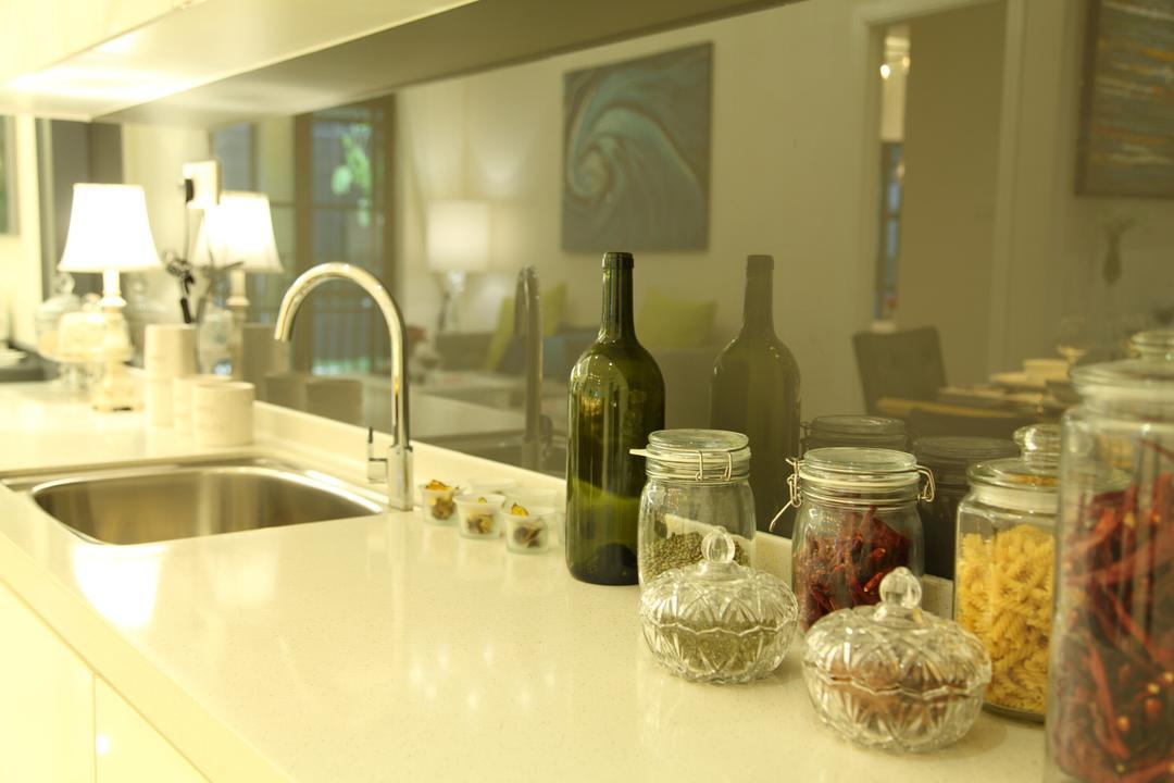 Isle Of Kamares Setia Eco Glades, Cyberjaya, Nice Style Refurbishment, Contemporary, Kitchen, Landed, Tap, Jar, Bottle