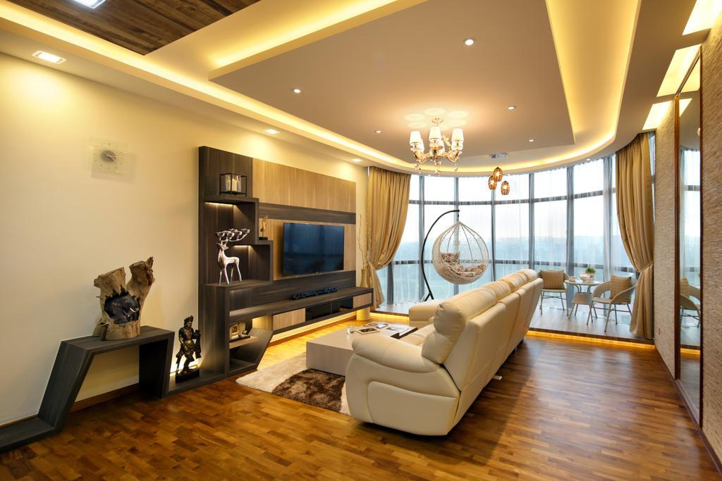 Contemporary, Condo, Living Room, Parc Oasis, Interior Designer, Urban Design House