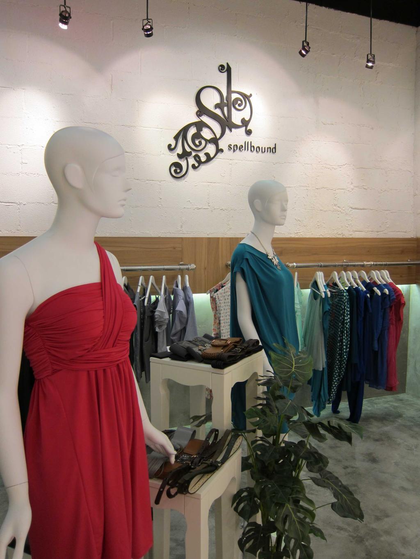 Spellbound, Commercial, Interior Designer, The Design Practice, Scandinavian, Shop Interior, Interior, Cement Flooring, Neutral Tones, Coat Rack