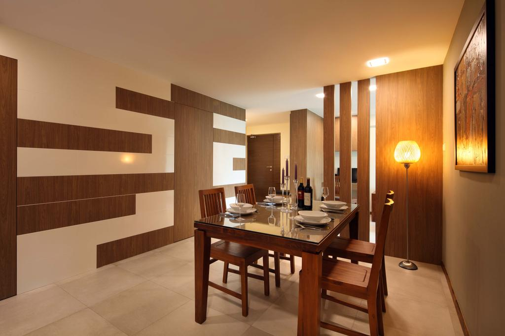 Traditional, HDB, Dining Room, Punggol Field (Block 110A), Interior Designer, Urban Design House