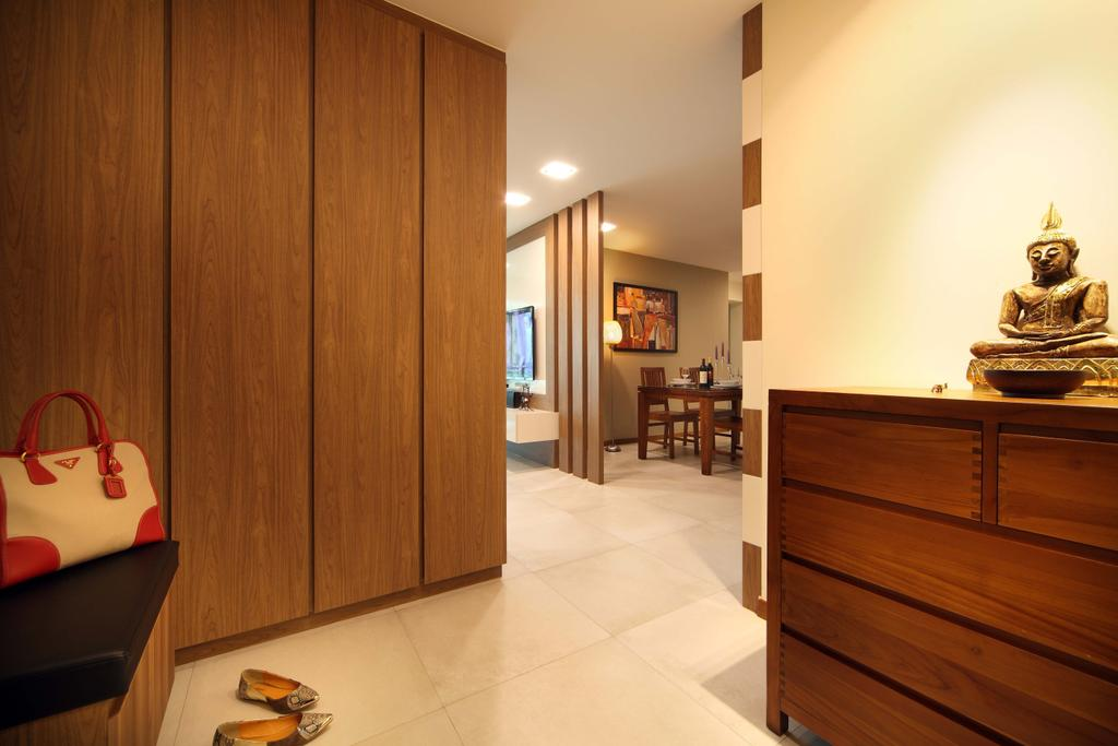 Traditional, HDB, Living Room, Punggol Field (Block 110A), Interior Designer, Urban Design House, Wooden Cabinet