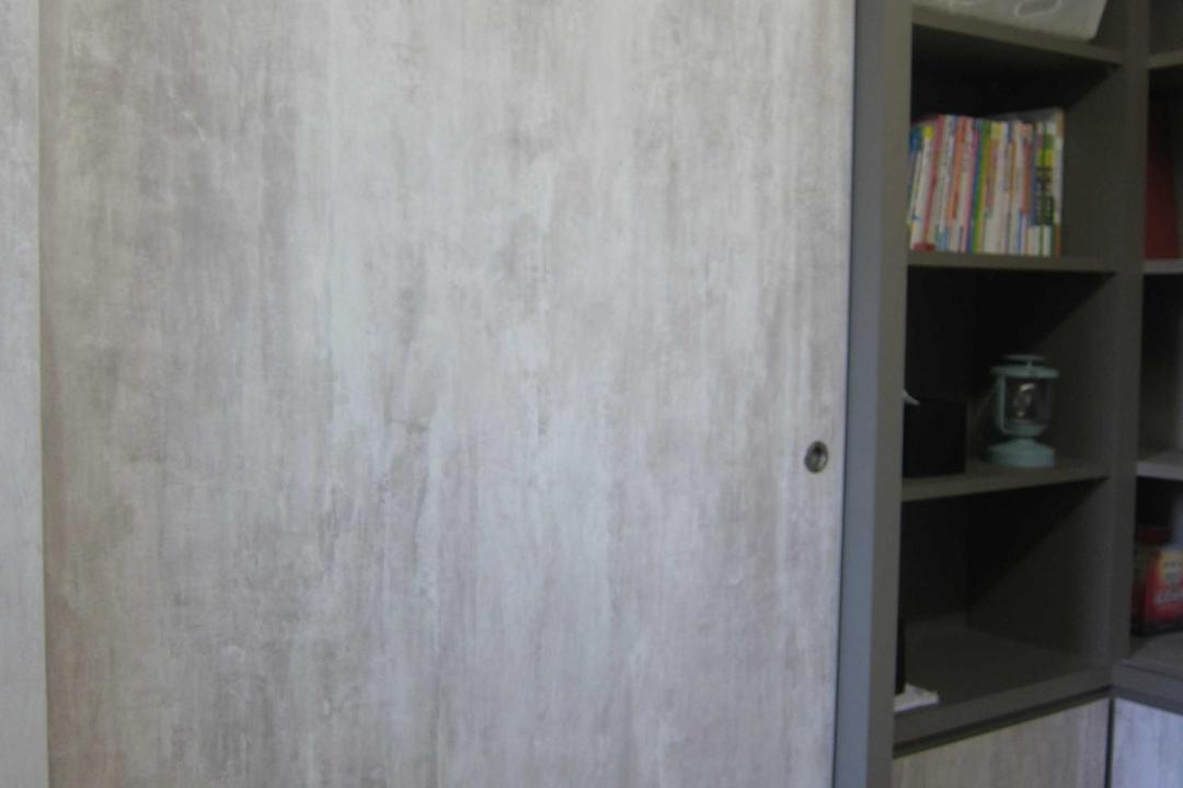 Sunhaven, The Design Practice, Modern, Study, Condo, Storage, Display Unit, Cabinet, Display Cabinet, Shelves, Sliding Door, Bookcase, Furniture, Shelf